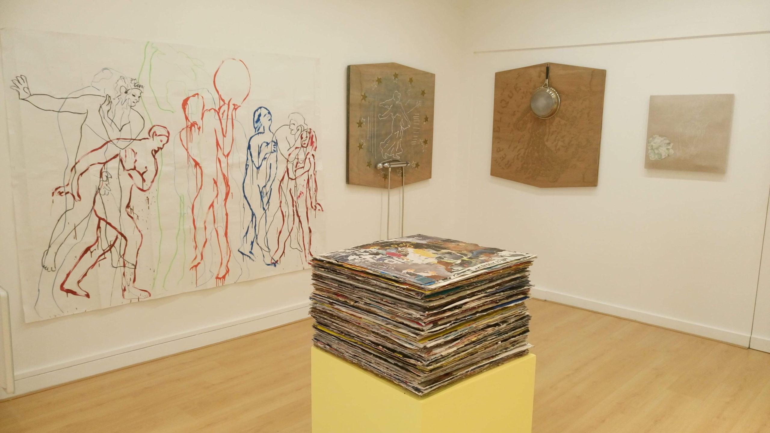 exposition de Xavier Ribot, plasticien